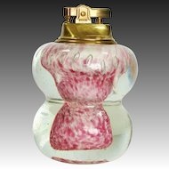 Murano Art Glass Table Lighter ~ Hollywood Regency Era