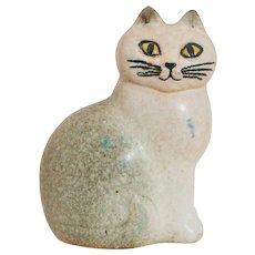 Lisa Larson Keramikstudion Studio Gustavsberg Sweden Cat Statue