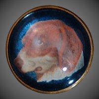 Victorian Horse Bridle Rosette Pin ~ Delightful Canine