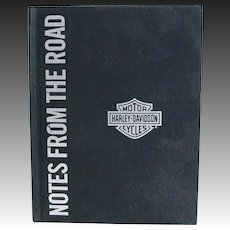 Harley Davidson Rare Notes From The Road Great Rides Notebook Journal