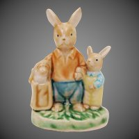 Spring Sale 1/2 Prices!! Easter Spring Bunny Rabbit Figurine