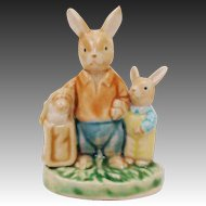 Easter Spring Bunny Rabbit Figurine