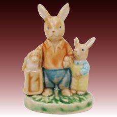 Easter Spring Bunny Rabbit Figurine