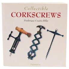 Collectible Corkscrews by Frédérique Crestin-Billet Reference Book