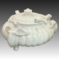 Exquisite Mythical Griffin ~ Griffon Italian Soup Tureen with Lid and Ladle