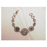 Israeli Designer Silver Bracelet