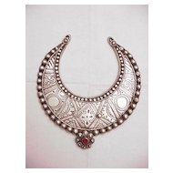Swat Valley Intricate Silver Neck Ring