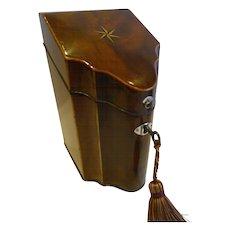Rare George III Sheraton period Spoon Box c.1780