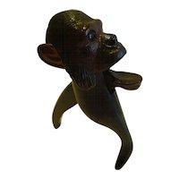 Antique Figural Black Forest Nutcracker c.1900