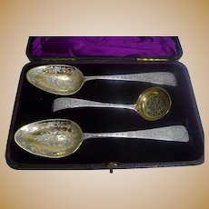 Magnificent 18th Century English Sterling Desert Serving Set - 1782 / 1797