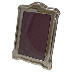 English Sterling Silver Photograph Frame - Birmingham 1925