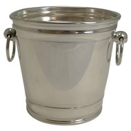 Vintage English Silver Plate Ice Bucket by Elkington and Co. - 1934