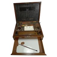 Military / Campaign Brass Bound Artist's / Watercolor Box - J. Newman's - c.1820