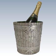 Outstanding Victorian Novelty Wine Cooler in Silver Plate by Elkington - 1879