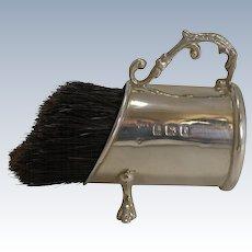 Wonderful Novelty English Sterling Silver Pen / Nib Wipe - 1905