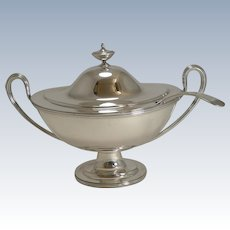 Antique English Soup Tureen by Joseph Rodgers c.1900
