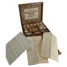 Magnificent Artist's / Watercolour Box by G. Rowney c.1870