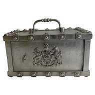 Antique French Stagecoach Safe by Bauche c.1870