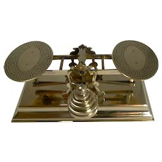 Smart Antique English Postal / Letter Scales by Sampson Mordan c.1880