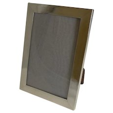 Smart English Sterling Silver Photograph Frame - 1919