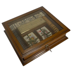 Antique English Games Box c.1890/1900