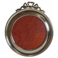 Fine Antique English Sterling Silver Photograh Frame - 1901