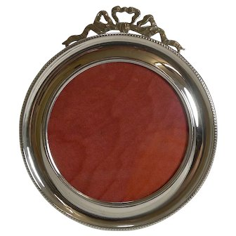 Fine Antique English Sterling Silver Photograh Frame - 1901