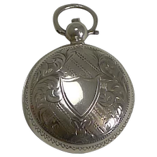 Antique English Sterling Silver Sovereign Case - 1903