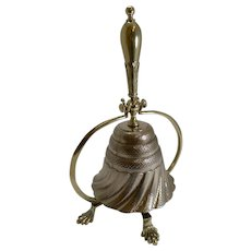 Unusual Antique English Dinner Bell c.1860