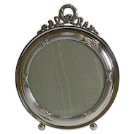 Antique English Sterling Silver Photograph Frame - 1909