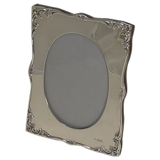Fabulous Antique English Sterling Silver Photograph Frame by William Comyns