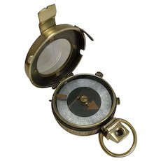 WW1 1918 British Army Officer's Compass - Verner's Patent MK VIII by Sampson Mordan
