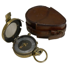 WW1 1917 British Army Officer's Compass - Verner's Patent MK VIII by French Ltd.