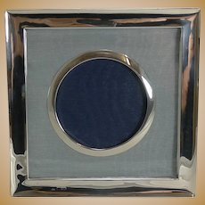 Smart Antique English Sterling Silver Photograph Frame - Chester 1903