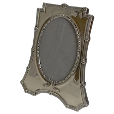 Elegant Antique English Sterling Silver Photograph Frame by Mappin and Webb - 1908