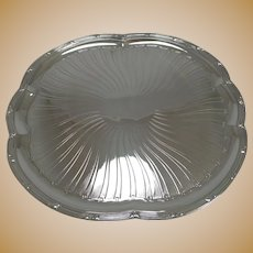 Antique French Christofle Silver Plated Tray c.1896 - Art Nouveau