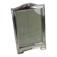 Smart Antique English Sterling Silver Picture Frame - 1911