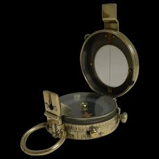 WW1 1918 British Army Officer's Compass by J H Steward, London
