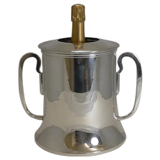 Magnificent Quality French Silver Plated Champagne / Wine Cooler c.1920