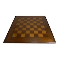 Large Antique English Chess Board c.1900