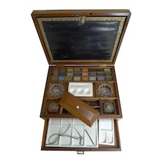 Magnificent Large Reeves & Sons Artist / Watercolour Box c.1860