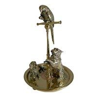 Magnificent Bronze and Brass Desk Compendium - Queen Victoria's Pets c.1880