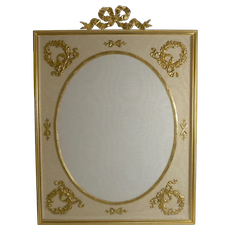Grand French Gilded Bronze Photograph / Picture Frame c.1900