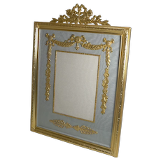 Large Antique French Gilded Bronze Photograph / Picture Frame c.1900