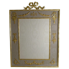 Grand Antique French Gilded Bronze Photograph / Picture Frame c.1900