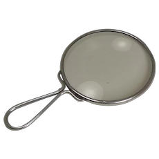 English Sterling Silver Magnifying Glass by Sampson Mordan - 1925