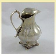 Rare Scandinavian solid silver creamer c. 1766