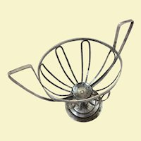 800 silver basket c. 1808, probably Austrian