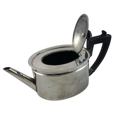 French or Dutch silver teapot c. 1800s