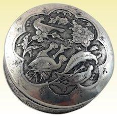 Nice Persian 875 silver box